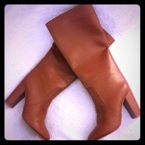 EXPRESS Brown Heeled Boots
